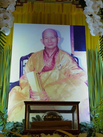 Tăng đoàn và Phật tử chùa Giác Ngộ đảnh lễ Giác linh Trưởng lão Hòa Thượng Thích Minh Cảnh (1937-2018) tại tu viện Huệ Quang, ngày 13/10/2018.