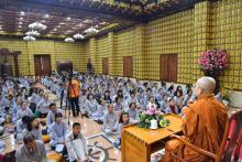 Chùa Giác Ngộ: Khóa tu Thiền lần thứ 12