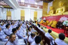 Chùa Giác Ngộ: Hơn 900 Phật tử tham dự khóa tu Ngày An Lạc lần 3