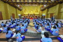 Khóa tu Búp sen từ bi: Ngày em trở lại chùa