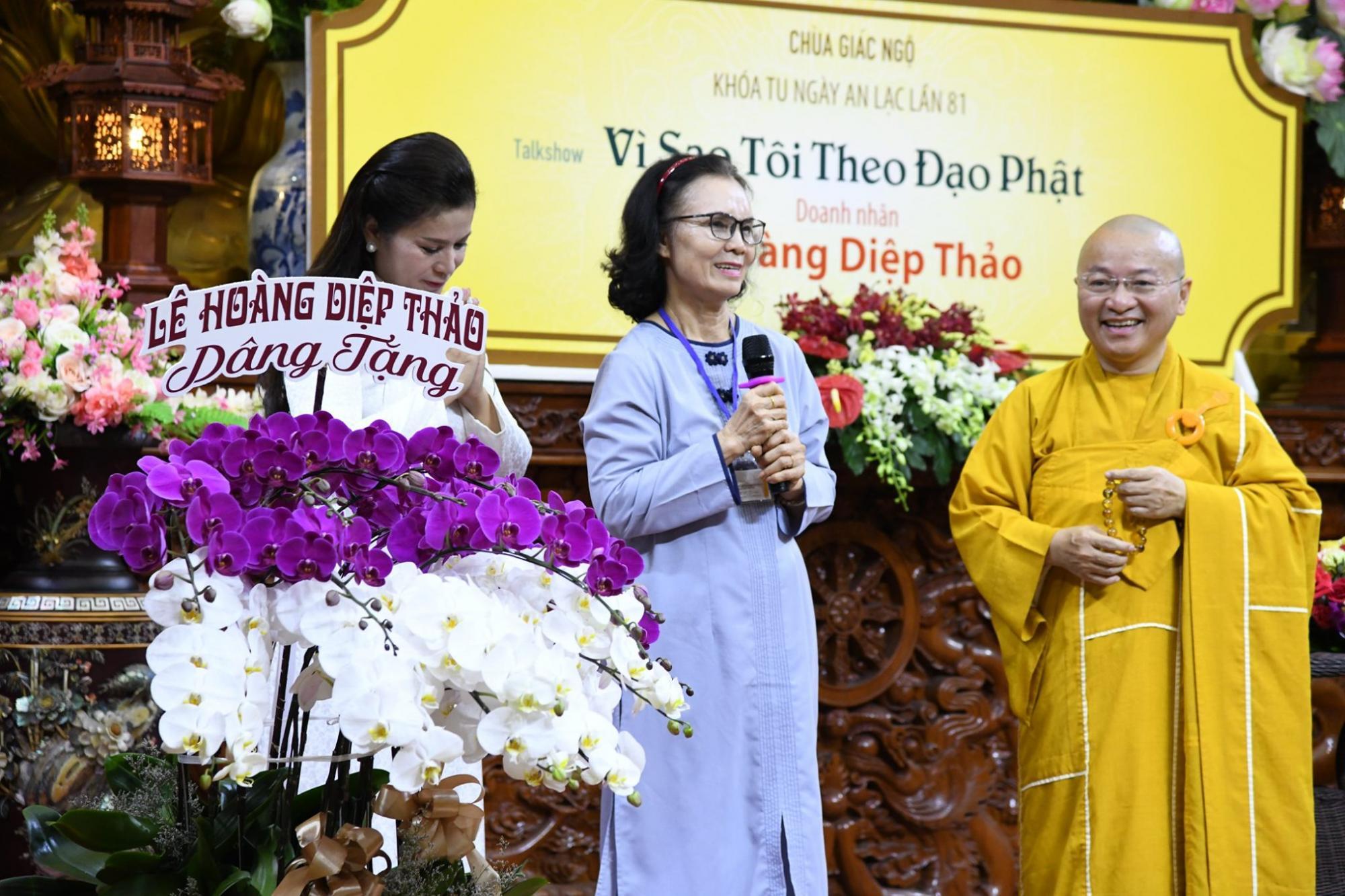 alkshow: Vì Sao Tôi Theo Đạo Phật Khách mời: Doanh nhân Lê Hoàng Diệp Thảo